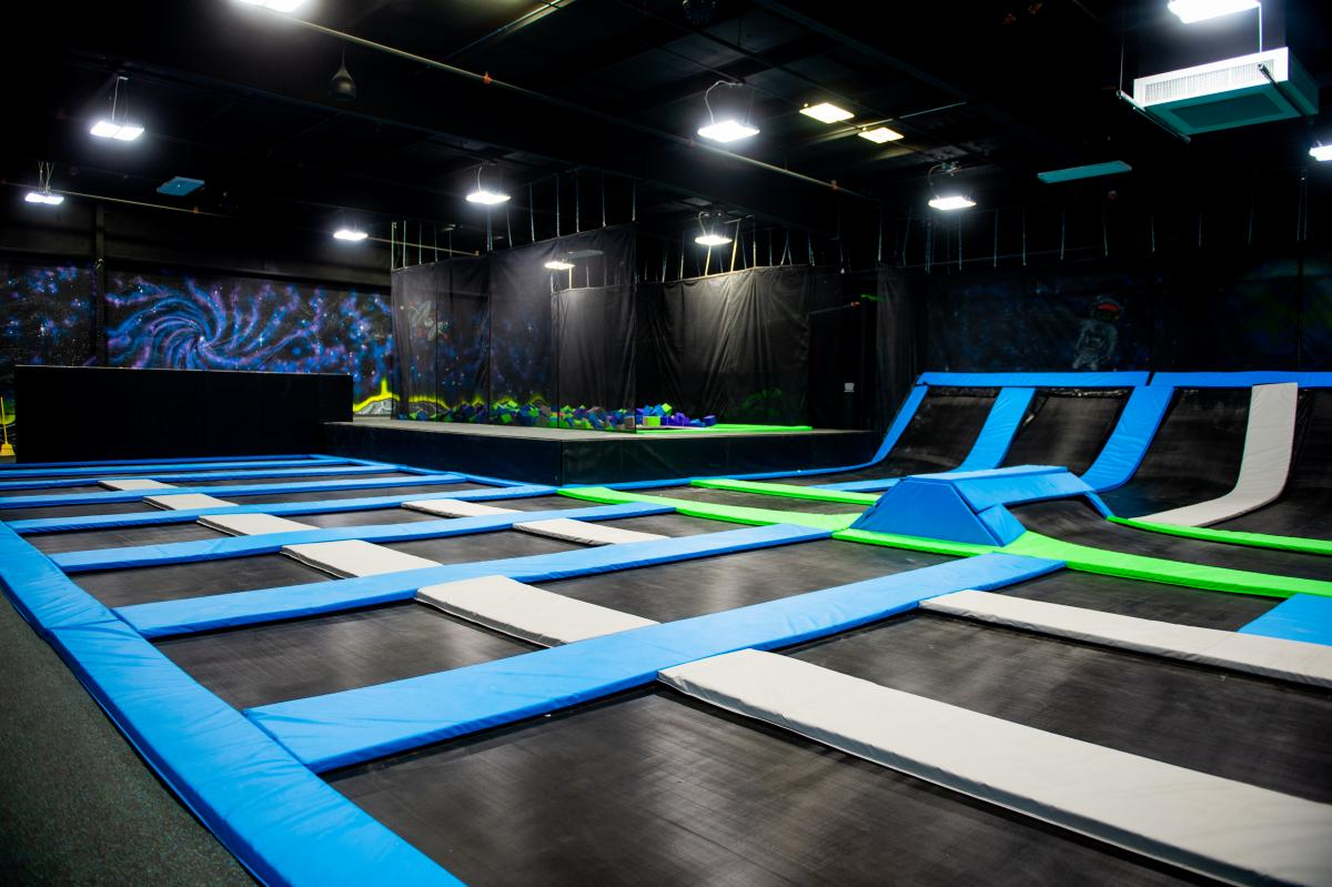 Elevate Trampoline Park In Champaign Is The Premier